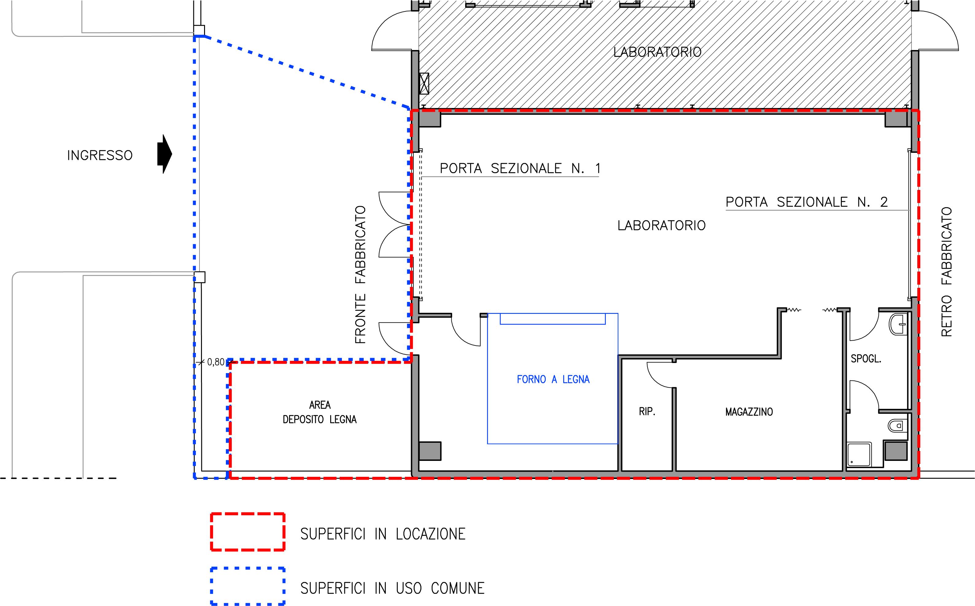 Alghero capannone in zona artigianale a poca distanza for Planimetrie capannone